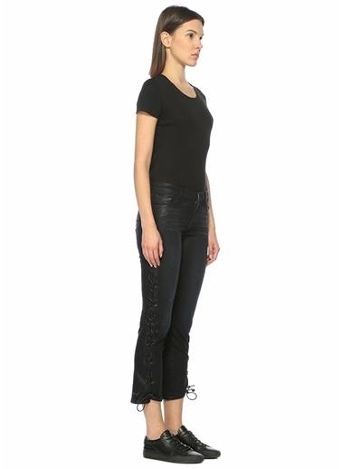J Brand Yüksek Bel Boru Paça Pantolon Lacivert